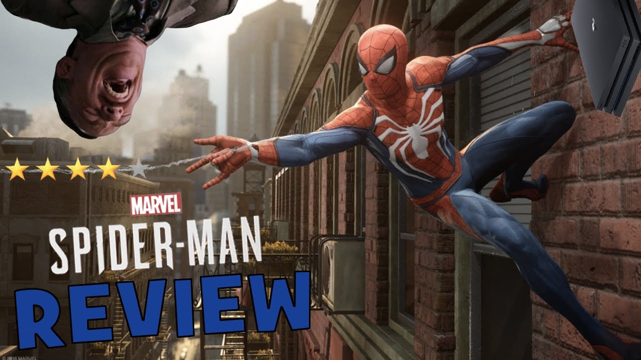 marvel's spider-man (ps4) review - youtube