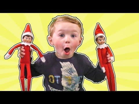 Elf on the Shelf - Compilation 1 - Jagger Touched the Elves! | DavidsTV