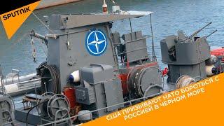 США призывают НАТО бороться с Россией в Черном море