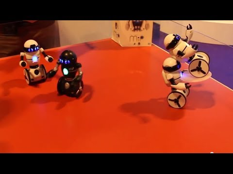 MiP - The fun balancing robot. At last! A robot that can bring me a beer.