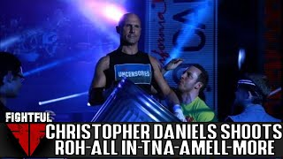 Christopher Daniels 2018 Shoot Interview: ROH Work, Unbreakable 2005 Match, All In, Stephen Amell