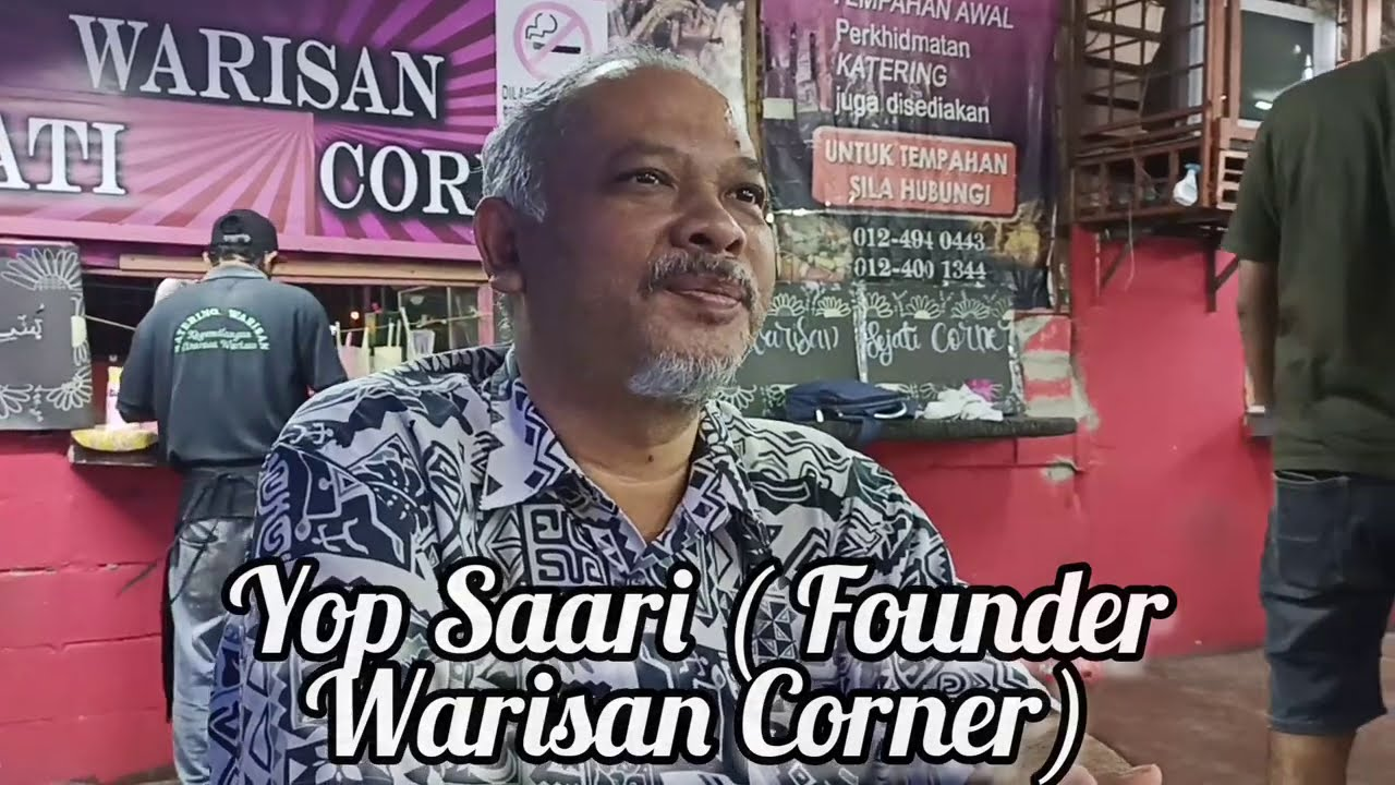 Motivasi & Inspirasi: Yop Saari membina perniagaan dari bawah.