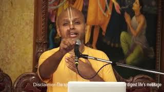 1 min speech will relax you from stress - Gauri Gopal Das