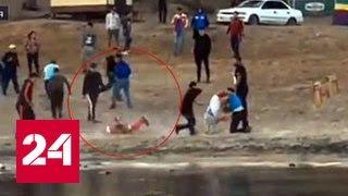 В Сети появилось видео избиения борца Юрия Власко