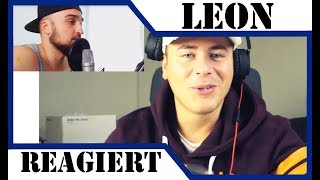 LEON MACHERE REAGIERT AUF DISSTRACKS 🙉 Reaktion auf Youtube PowrotTV