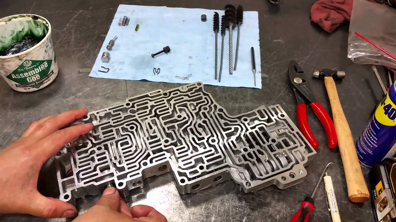 maxresdefault 5r55s valve body 5r55s transmission youtube Jetta Transmission Valve Body at n-0.co