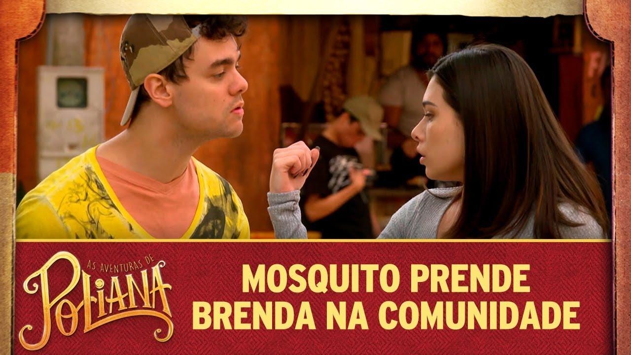 Mosquito prende Brenda na comunidade | As Aventuras de Poliana