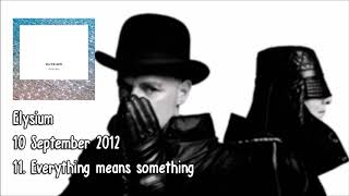 Pet Shop Boys - Everything means something