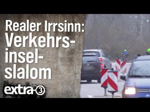 Realer Irrsinn: Verkehrsinsel-Slalom In Volksdorf | Extra 3 | NDR