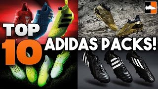 Top 10 adidas Football Boots Packs of ALL TIME!!