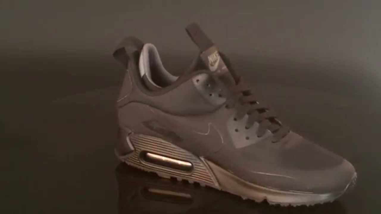 nike air max 90 mid winter trainer dark loden