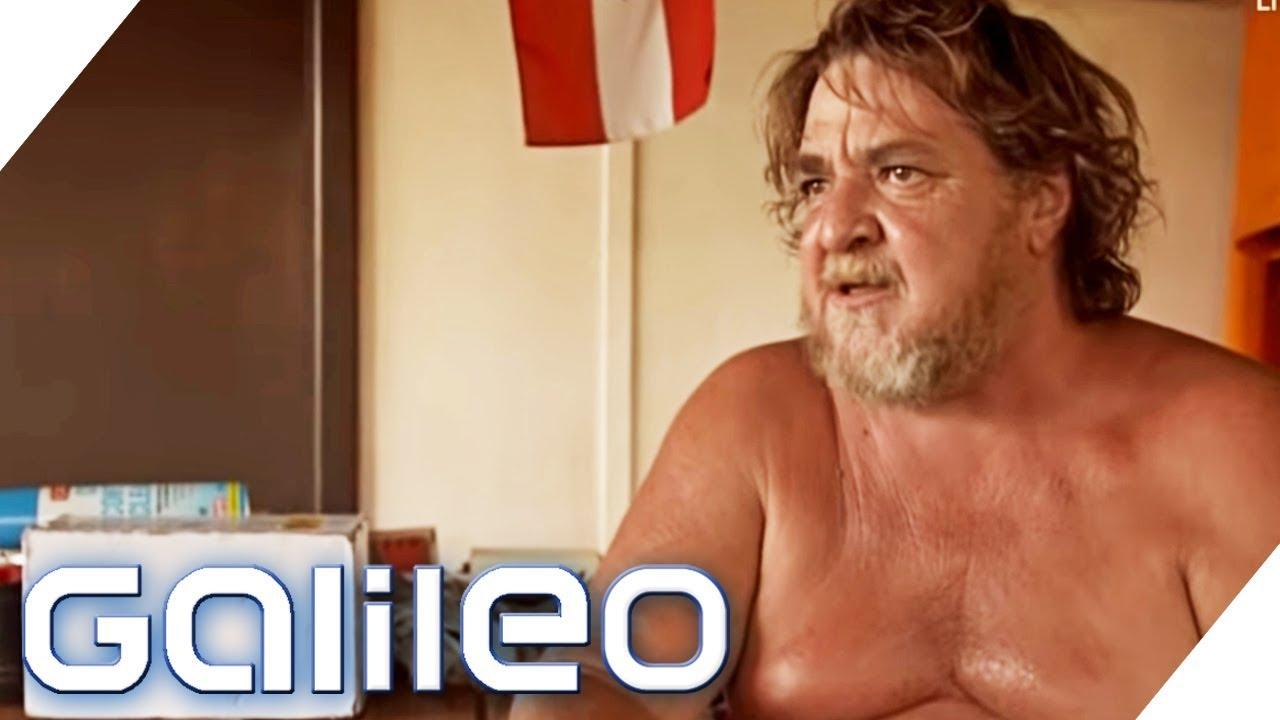 Der letzte Bewohner Wittenooms - Die vergessene Stadt Australiens | Galileo | ProSieben
