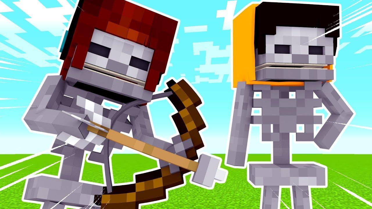 vida de mobs 04 como É a vida de um esqueleto minecraft youtube