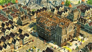 ANNO 1404 | Ep. 1 | Constructing the Cathedral | Anno 1404 City Building Tycoon Campaign Gameplay