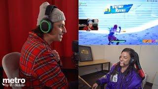 Faze Cizzorz Teaches Me How To Play Fortnite! (HILARIOUS)
