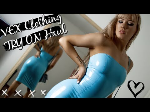 LATEX Try On Haul, New Outfits... & No Where To Wear Them | Maddie Luca