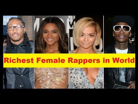 Top 10 Richest Female Rappers in World 'Rich Female Rapper'