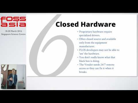 Adoption of open standards and FLOS Software in the public sector - Norvan Vogt - FOSSASIA 2016