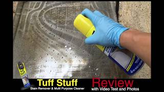 Is Tuff Stuff Stain Remover the BEST MULTI-PURPOSE Cleaner??
