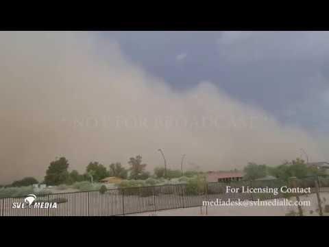 Queen Creek, AZ 15:20 7/9/2018 Haboob Dust Storm