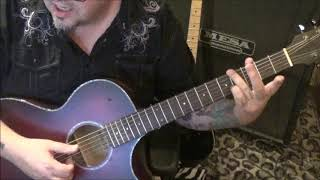 DISTURBED - REASON TO FIGHT - CVT Guitar Lesson by Mike Gross