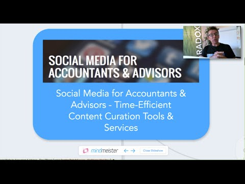 Social Media for Accountants & Advisors - Time Efficient Content Curation Tools & Services