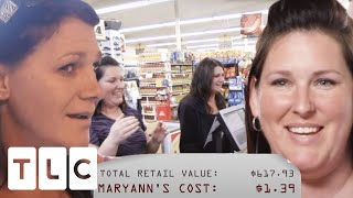 Woman Converts Coupon Skeptic With 99.9% Savings On Grocery Shop | Extreme Couponing