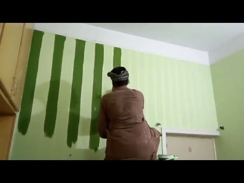 Bedroom Paint Ideas In Pakistan paint ideas for living room - wall taping - youtube