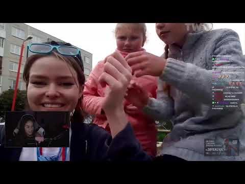 DianaRice смотрит Топ Моменты с Twitch   Чему Учат Детей в Школе   Вышел в Окно    TWITCHFM Резерв