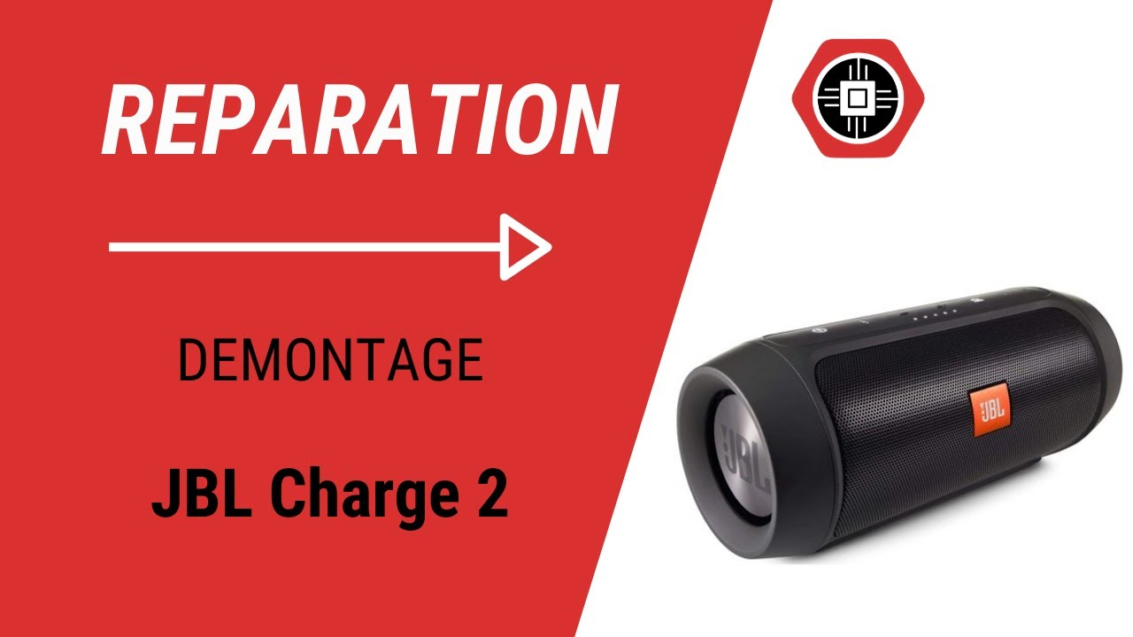 JBL Charge 2 - Démontage - YouTube c780da9d41c5c