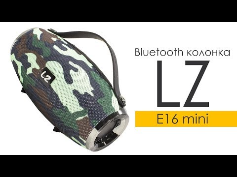 Портативная Bluetooth колонка LZ E16 mini Grey