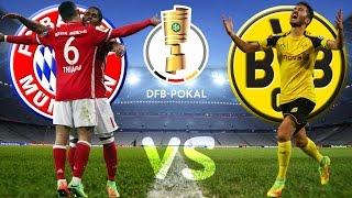 FC BAYERN MÜNCHEN vs BORUSSIA DORTMUND 2:3 DFB Pokal Halbfinale