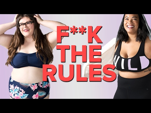 Thumbnail: Women Break Plus-Size Fashion Rules