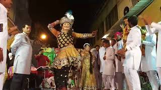 Krishna jhanki by gourav & group -3  at yuva mandali gamesh utsav kameti vishal chowki ram bazar mo