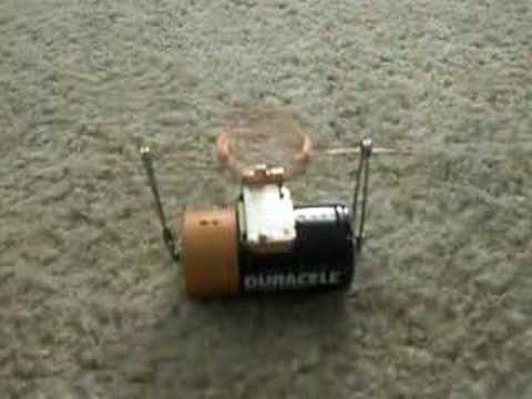 simple toy motor project youtube
