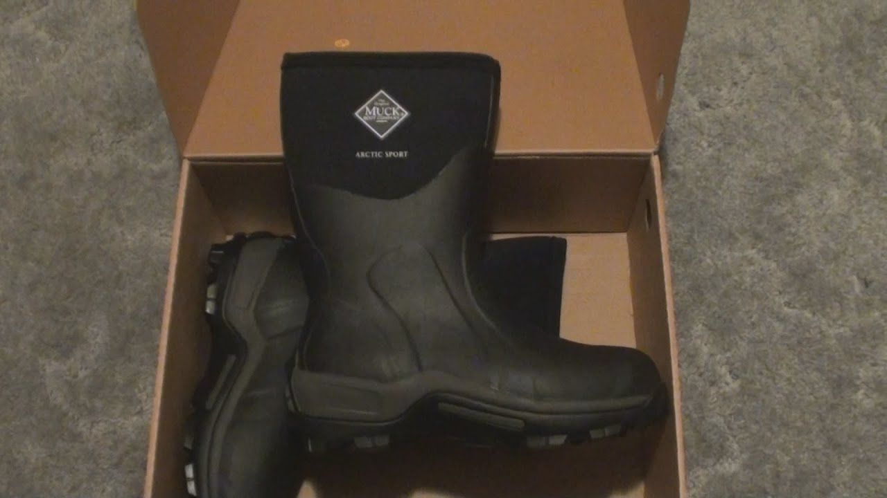 1054e31da540 Muck Arctic Sport Boot - Unboxing And Overview - YouTube