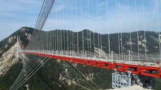 Construction The Longest Footbridge In The World(Ducumentary)蒙山索桥建设纪实