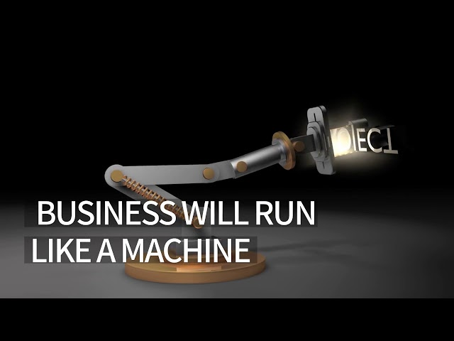 LET YOUR BUSINESS RUN LIKE A MACHINE
