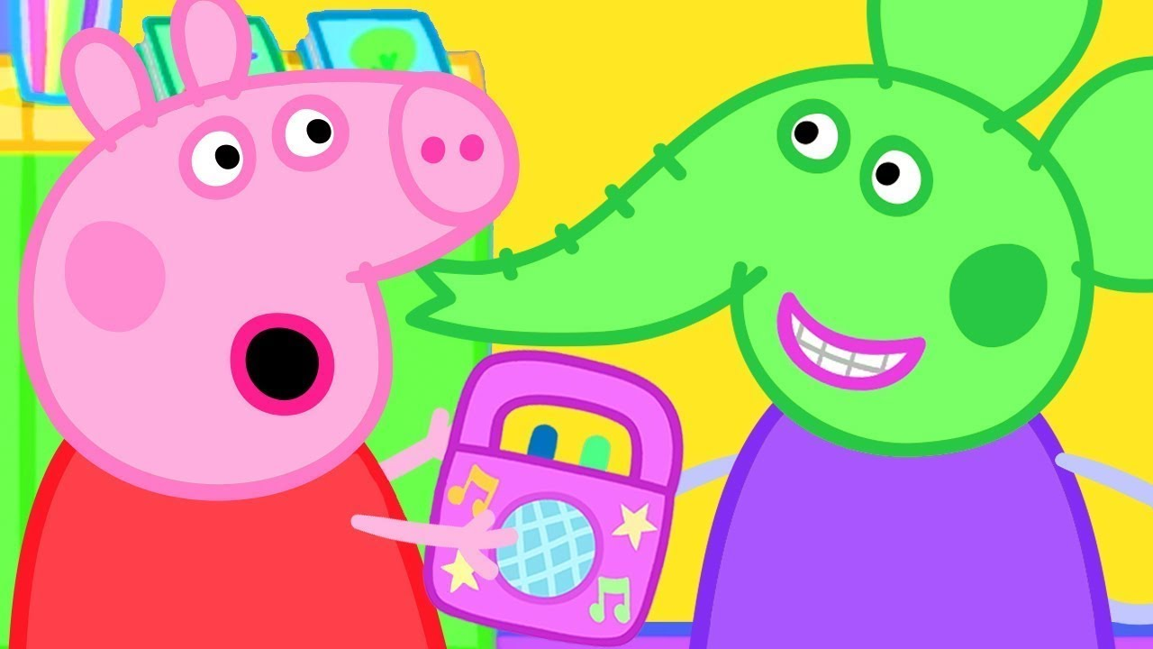 Download Peppa Pig Official Channel   Peppa Pig and Emily Elephant's Favourite Space Alien Music