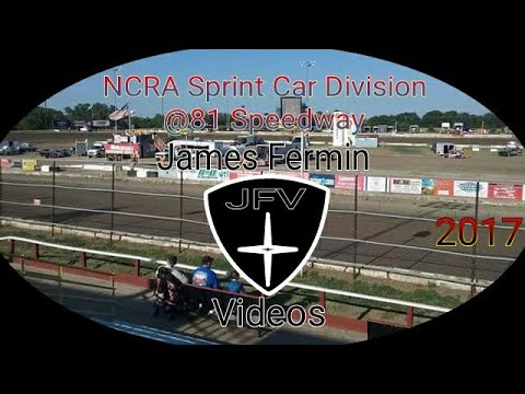 NCRA Sprint Cars #28, Heat, 81 Speedway, 2017
