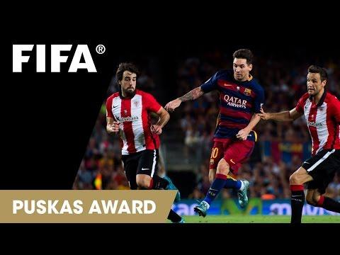 ¡Golazos! Messi, Florenzi y Lira, finalistas al mejor gol del 2015