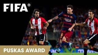 Lionel Messi Goal: FIFA Puskas Award 2015 Nominee