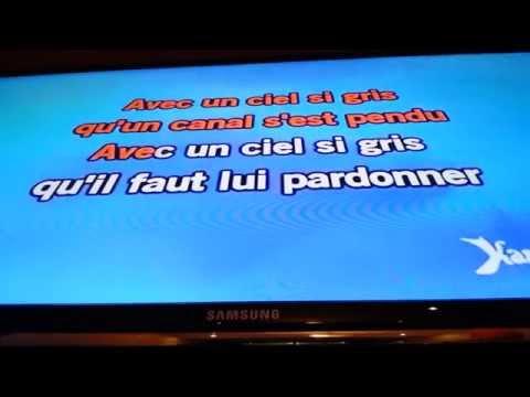 Jacques brel; le plat pays karaoke