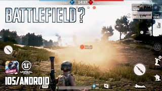BATTLEFIELD MOBILE COPY - iOS / Android - FIRST GAMEPLAY (Unreal Engine 4)