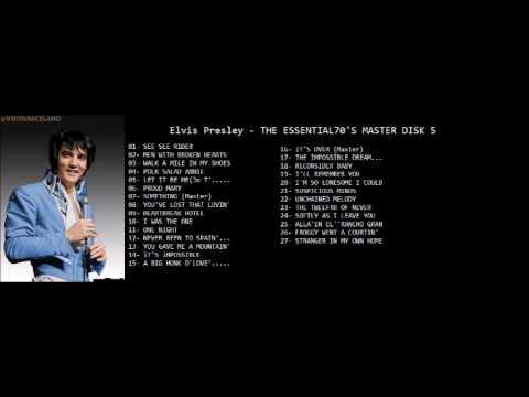 Elvis PresleyTHE ESSENTIAL70'S MASTER DISK 5