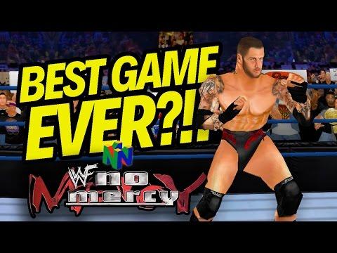 BEST WRESTLING GAME EVER MADE!! | WWF No Mercy (w/ CURRENT SUPERSTARS!! 2K17 MOD!!)
