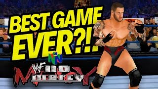BEST WRESTLING GAME EVER MADE!! | WWF No Mercy (w/ CURRENT SUPERSTARS!! 2K17 MOD!!)