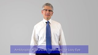 Advanced Treatment for Lazy Eye (Amblyopia)  | Wow Vision Therapy
