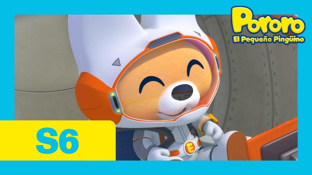Pororo Español la Serie 6 | #23 Eddy viaja a la luna | Pororo Spanish | Animación infantil