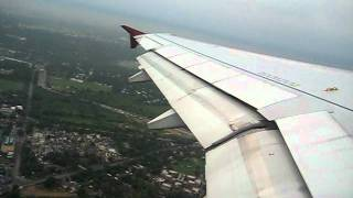 GoAir take off from New Delhi Airport